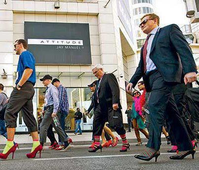 Toronto's Walk A Mile in Her Shoes
