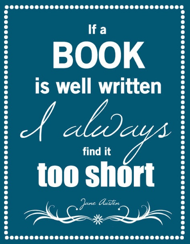 If A Book Is Well Written...