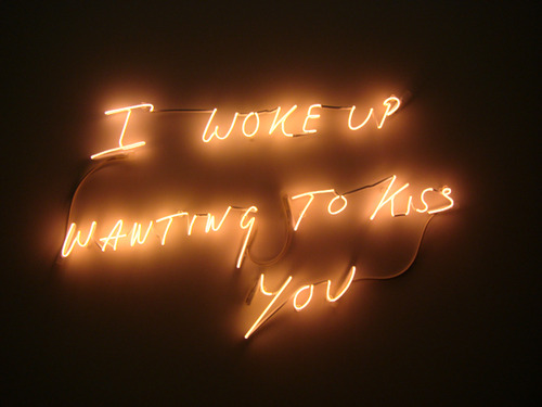 Tracy Emin, I Woke Up Wanting To Kiss You (2010)