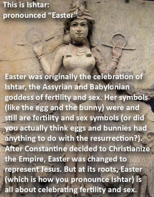 Ishtar = Easter