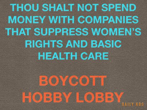 Boycott Hobby Lobby