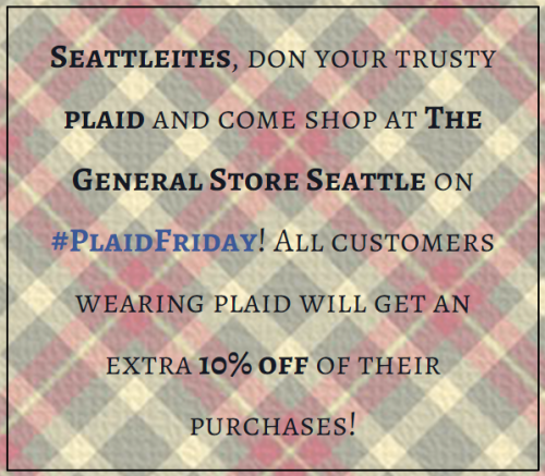 plaid friday 2014