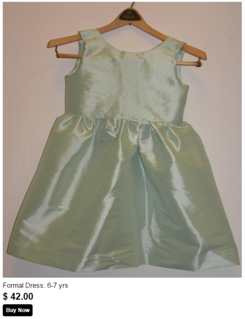 sea foam green formal dress